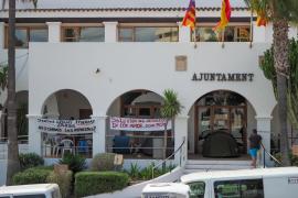 La protesta de los vecinos de los 'don Pepe', en imágenes. (Fotos: Marcelo Sastre)