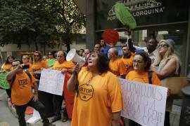 La PAH denuncia el desahucio «inminente» de dos familias vulnerables en Palma