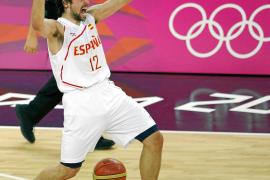 Sergio Llull se cuelga la medalla