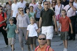 La infanta Cristina y Urdangarin veranean en el País Vasco