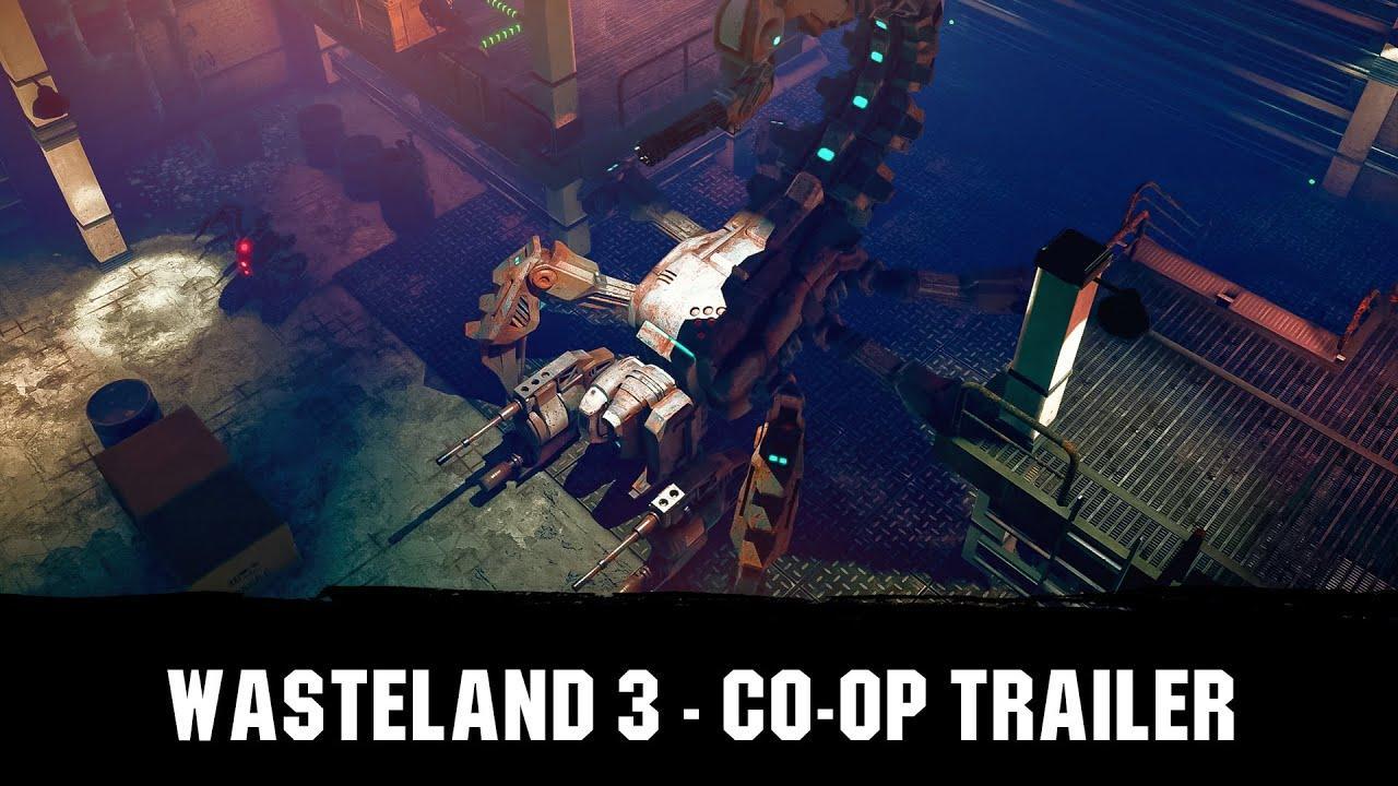 Wasteland 3 - trailer modo cooperativo