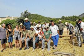 Unas jornadas rememoran cómo eran las tareas agrícolas hace más de 60 años