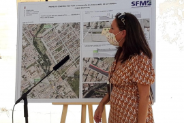 SFM destina 1,9 millones a quitar el paso a nivel de Sa Farinera