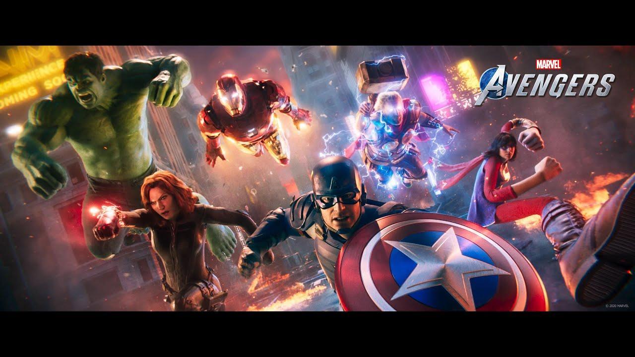¡Ya está aquí el tráiler CGI de Marvel's Avengers!