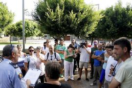 Autoridades y vecinos siguen la búsqueda de Rafel Ayala en Alcúdia