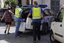 Detenido un policía local de Pollença por dar patadas en el casco a un motorista arrestado