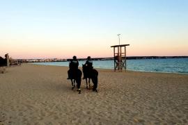 Todo preparado para cerrar las playas de Palma desde esta noche: sanciones de entre 100 y 3.000 euros para los infractores
