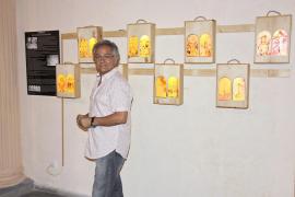 Pep Lendínez une paisaje y evangelio en una exposición de vitrales en Sant Jordi