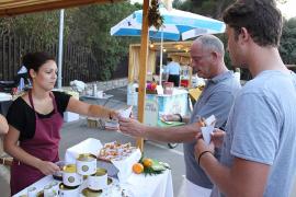 La dieta mediterránea pone el broche de oro a una exitosa feria nocturna