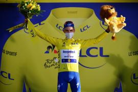 El francés Julian Alaphilippe se apunta la segunda etapa y el liderato del Tour