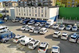 La Policía Local de Palma cuenta con coches patrulla de 20 años de antigüedad