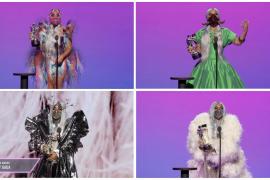 Los 5 premios de Lady Gaga y sus originales mascarillas protagonizan los MTV