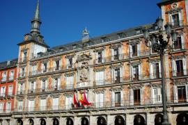 Un café en la Plaza Mayor, el origen de la discordia en las redes