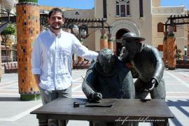 Juan Carlos Martínez, artista residente en Alaró