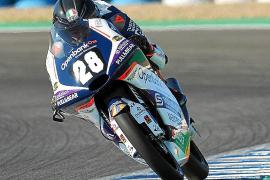 Izan Guevara presenta su candidatura en el Mundial Júnior de Moto3