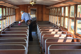 El Tren de Sóller suspende su servicio por los «graves y cuantiosos» daños de la tormenta