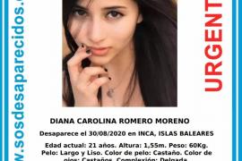 Buscan a una joven desaparecida en Inca