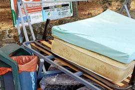 Imponen multas para acabar con los vertidos ilegales de basuras en Alaró