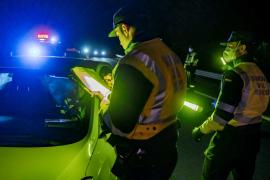 La Guardia Civil de Tráfico formuló 8.082 denuncias en Baleares durante el estado de alarma