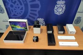 'Cazado' por robar productos de tecnología en un centro comercial de Mallorca y venderlos en internet