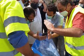 Bombers y Consell ultiman los trabajos en la zona más afectada por el temporal