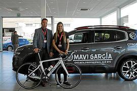 Mavi García, embajadora de Citroën PSA Retail Palma, de nuevo campeona