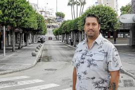 Juan Rodríguez, trabajador de Magaluf: «Son muchas las familias de trabajadores que no tienen ni para comer en Calvià»