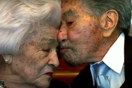 La pareja más longeva del mundo cumple 79 años de casados