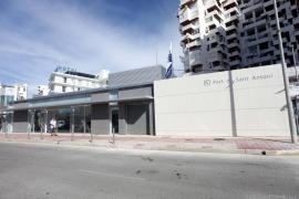 Las nuevas instalaciones de Ports de les IB en Sant Antoni, en imágenes. (Fotos: Daniel Espinosa)