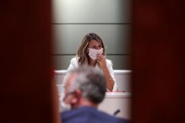 La ministra de Trabajo dice en Palma que los ERTE seguirán mientras haya incertidumbre sanitaria