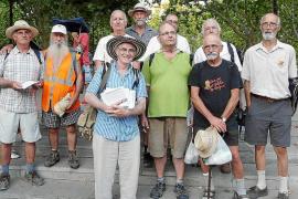 Jubilats per Mallorca concluyen su ruta en Manacor tras 234 kilómetros de reivindicaciones