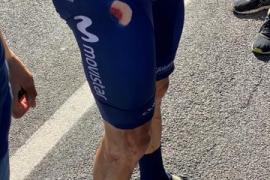 Enric Mas salva el día en el Tour tras sufrir una dura caída
