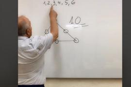 El reto del triángulo de Carlos Maxi, ¿eres capaz de solucionarlo?