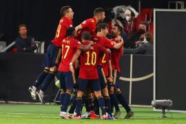 Gayá rescata a una nueva España ante Alemania