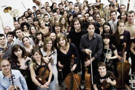The World Orchestra con el pianista Michael Nyman