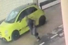 Detenido tras ser sorprendido robando un coche en el aeropuerto de Palma