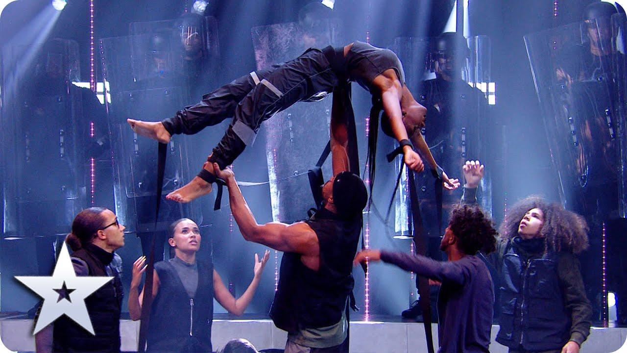 Un polémico baile en el 'Got Talent' británico simula la brutalidad policial contra los negros
