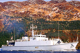Dos barcos de la Royal Navy recalarán en el Port tras 30 meses en el Golfo Pérsico