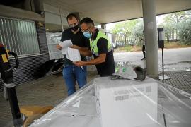 Reparto logístico de material en los colegios e institutos