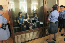 Las Pussy Riot, condenadas a dos años de prisión