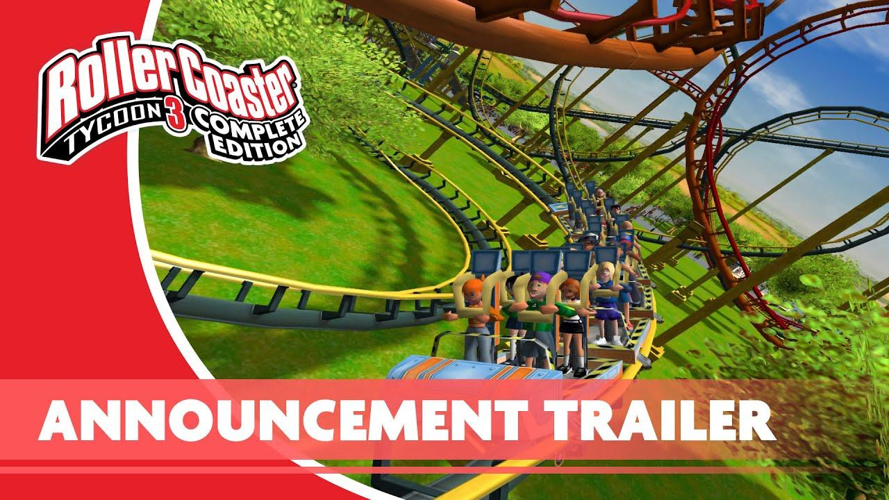 Frontier anuncia RollerCoaster Tycoon 3: Complete Edition