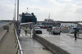 El número de vehículos registrados para circular por Formentera bajó un 8% este verano