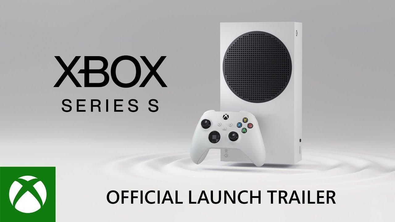 Xbox Series S en España el 10 de noviembre por 299 €