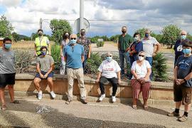 Vecinos de Palmanyola reclaman más seguridad en la carretera de Sóller