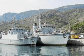 Expectación por la primera visita de dos buques de la Royal Navy a la base del Port