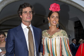Fernando Fitz-James Stuart y Sofía Palazuelo han sido padres de Rosario, la futura duquesa de Alba