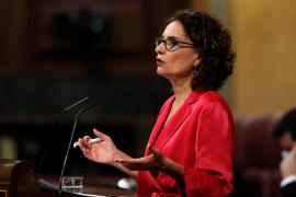 Montero, respecto a una posible congelación de sueldos públicos: «Exploraremos todos los escenarios»