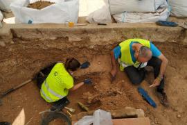 Finaliza la exhumación del cementerio de Bunyola y se iniciará la recogida de ADN para identificar los restos