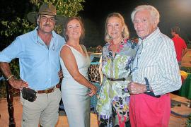 Carlos Lantero, Carmen Jaume, Bárbara Rosselló y Alonso Guasp.