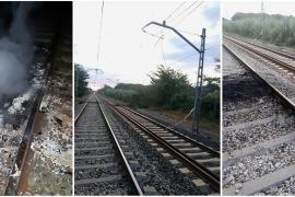 Actos vandálicos afectan a la red catalana de ferrocarriles, incluido dos AVE